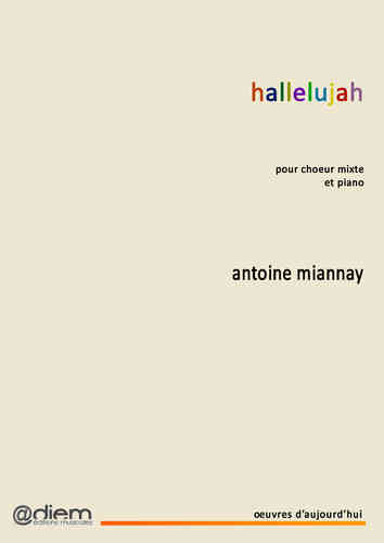 MIANNAY - HALLELUJAH - Piano-chant