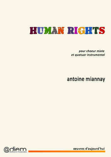 MIANNAY - HUMAN RIGHTS - piano-chant