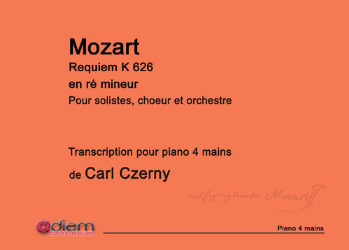 Requiem de Mozart - Partition piano 4 mains
