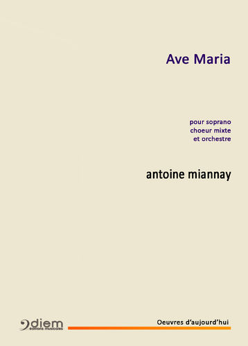 MIANNAY - AVE MARIA - Piano chant