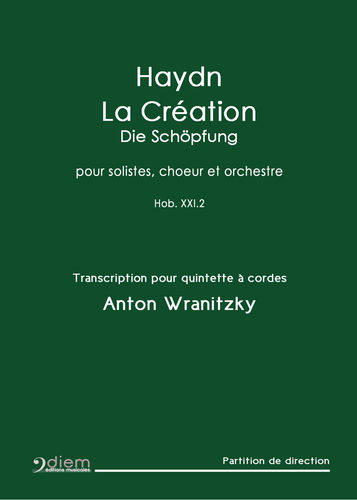 HAYDN-WRANITZKY  - The Creation - Full Score