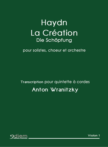 HAYDN /  WRANITZKY - Die Schöpfung / The Creation - Orchestra