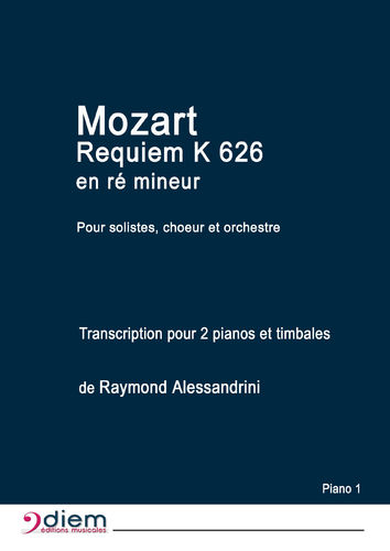 Mozart's Requiem - Piano parts 1 and 2